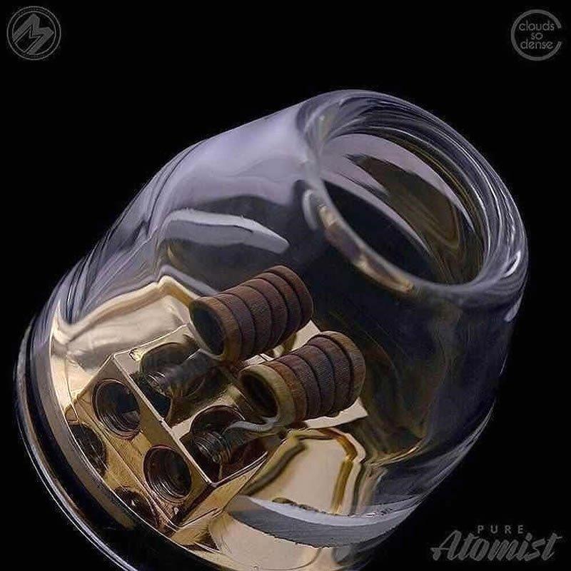 Cosmonaut Trinity Glass Tanks, Trinity Glass Hardware, Bullet Glass Cap