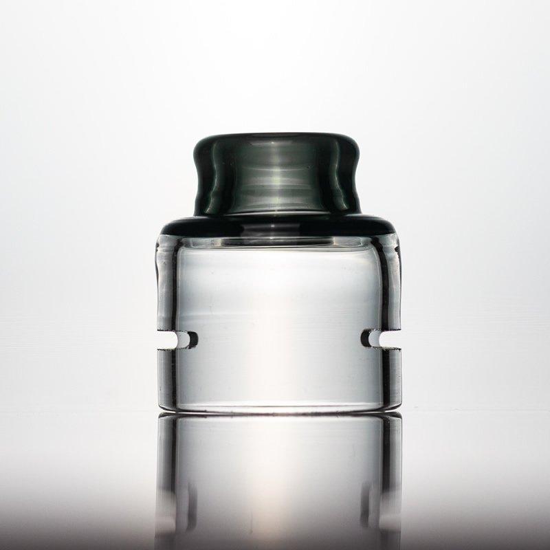 Spectrum Glass Cap-Black