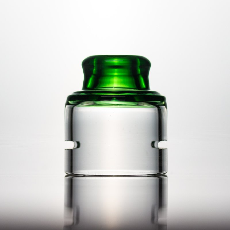 Spectrum Glass Cap-Green