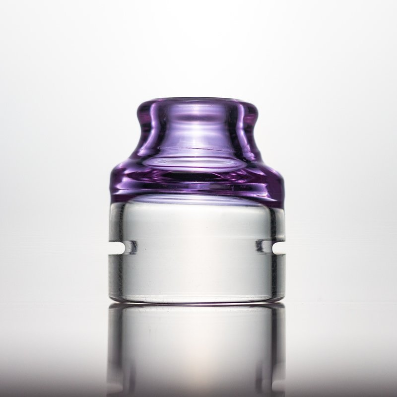 Spectrum Glass Cap-Purple